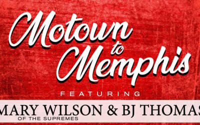 BJ THOMAS & MARY WILSON OF THE SUPREMES SET TO TOUR IN 2021