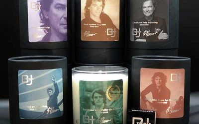 B.J. Thomas And Brighten The Occasion Candles Partner To Celebrate 50 Years Of Raindrops Keep Falling On My Head With Special Candle Collection