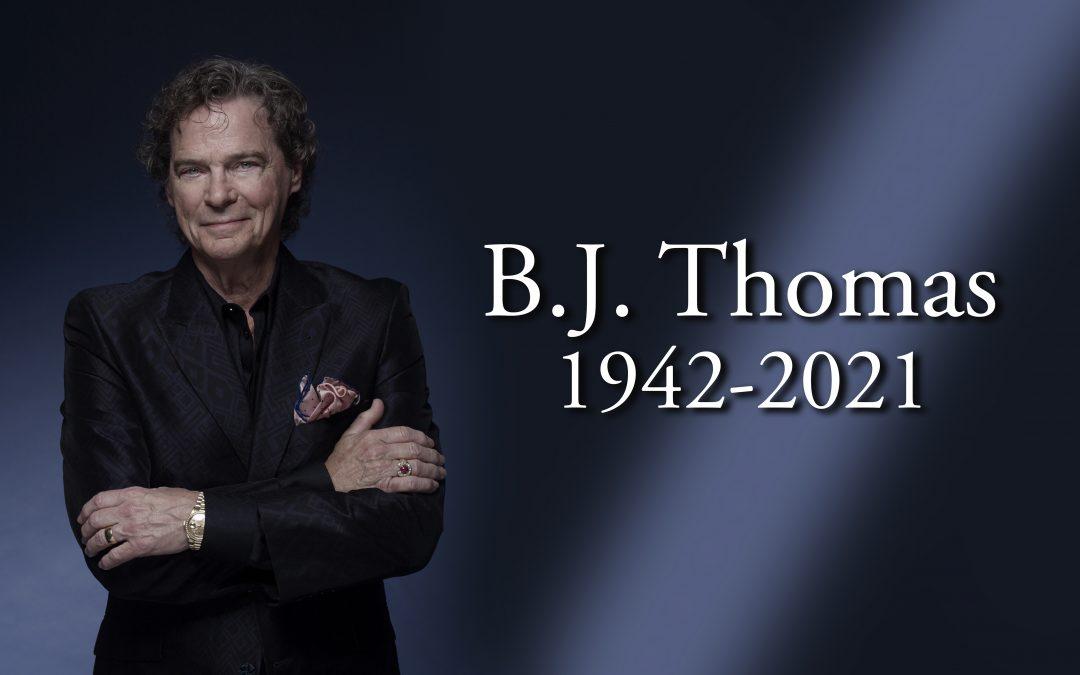 B.J. THOMAS DEAD AT 78